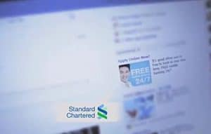 Standard Chartered example page